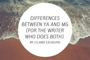 Greatest Hits: Differences Between YA and MG (For The Writer Who Does Both)