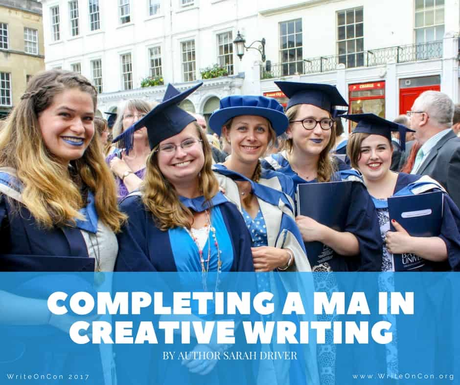 Completing a MA in Creative Writing