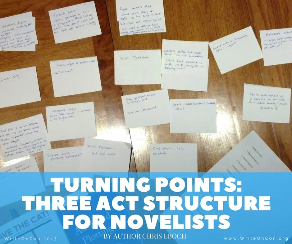 Turning Points: Three Act Structure for Novelists