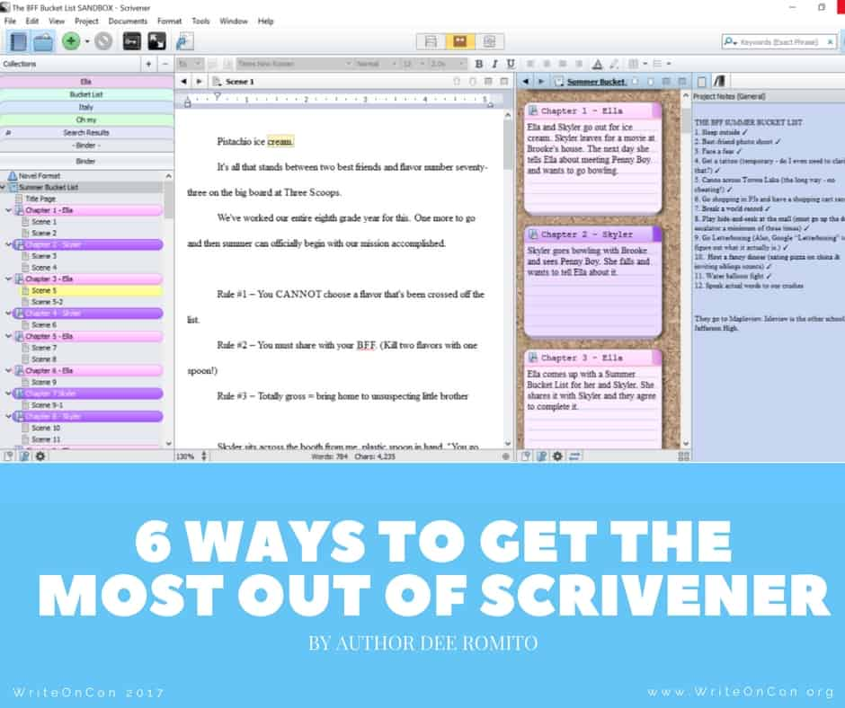 KEYNOTE: 6 Ways to Get the Most Out of Scrivener
