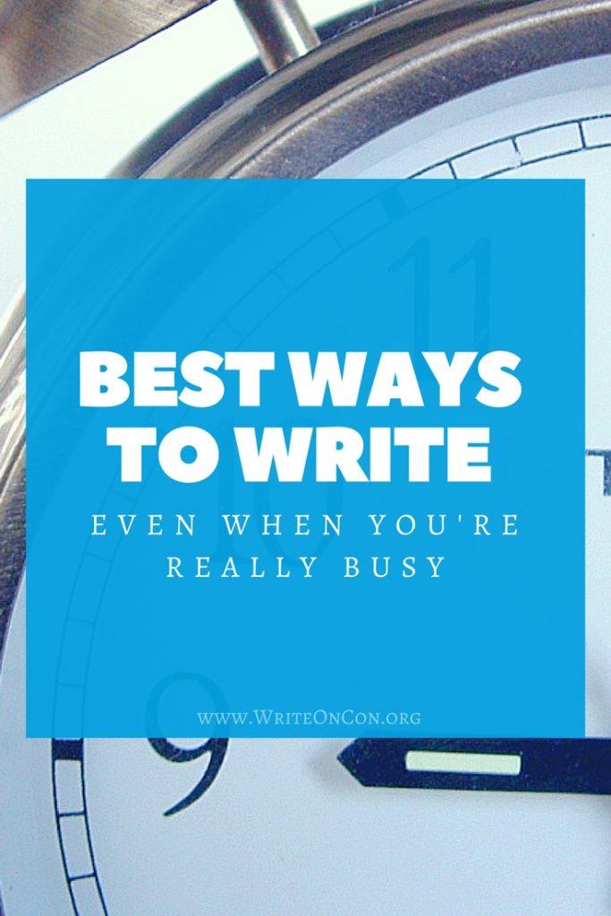 Best Ways To Write