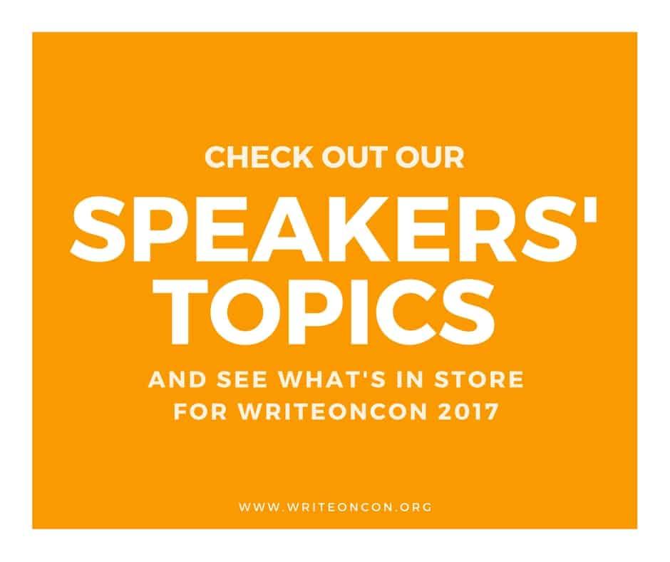Speakers' Topics