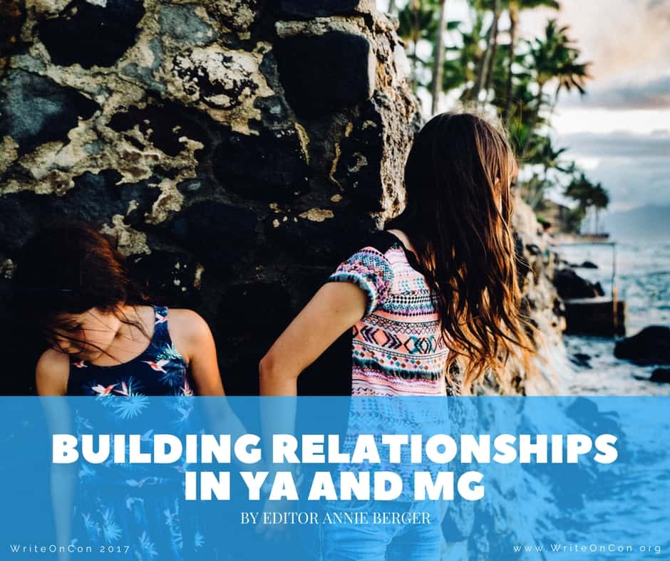 Building Relationships in YA and MG