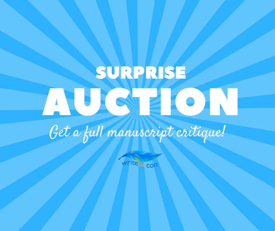 Surprise Auction! Full Manuscript Critique