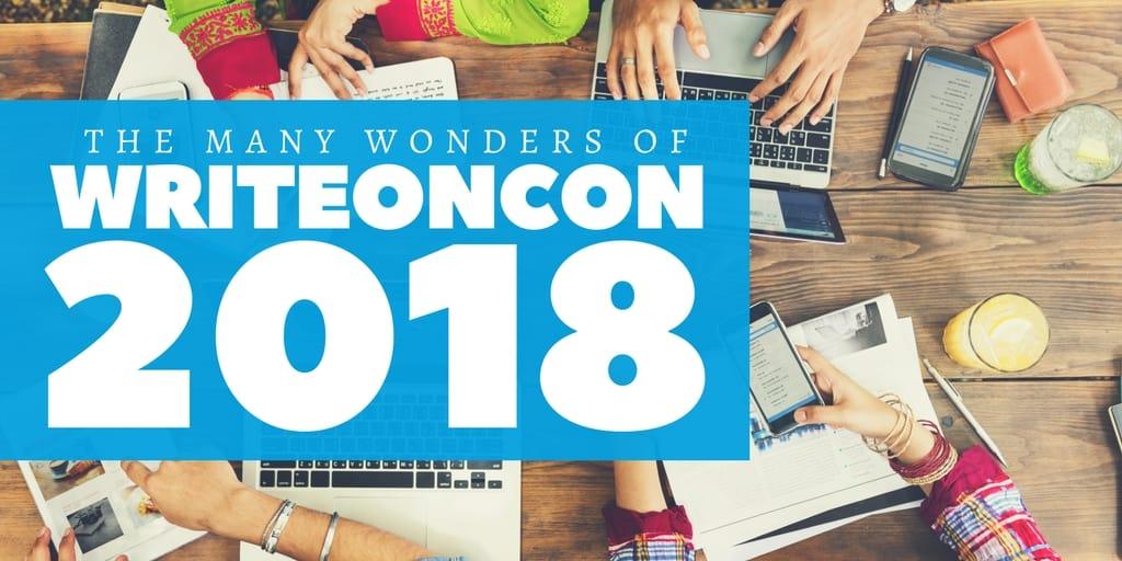 The Many Wonders of WriteOnCon 2018