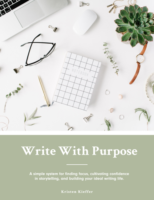 write with purpose