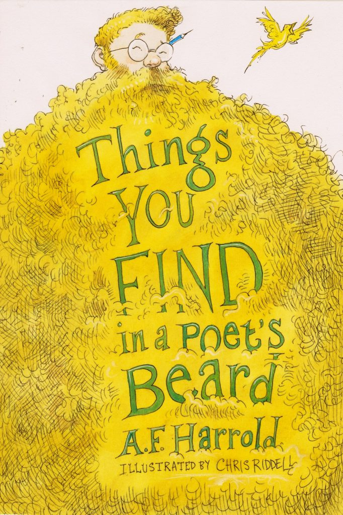 THINGS YOU FIND IN A POET'S BEARD