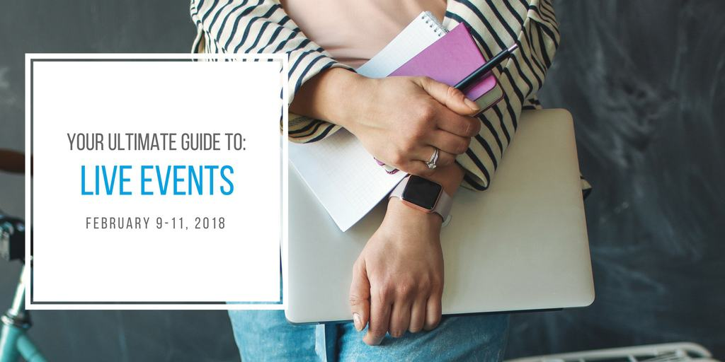 Your Ultimate Guide to: Live Events