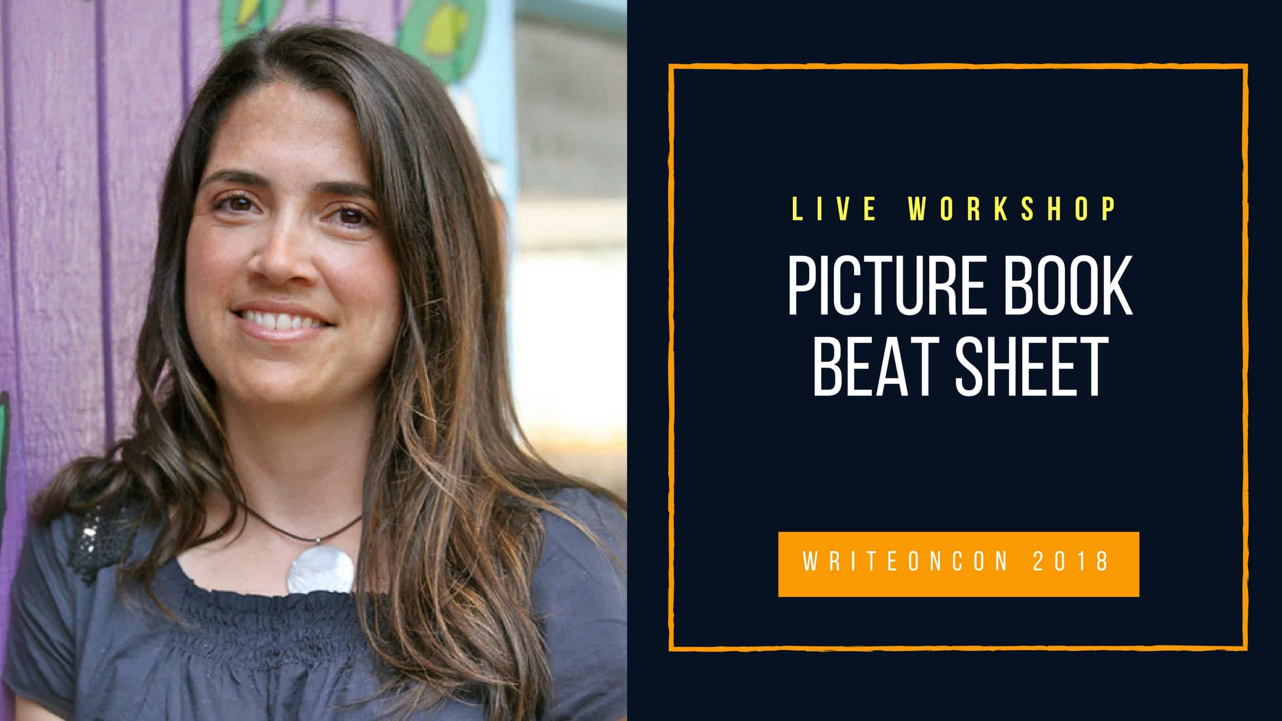 LIVE WORKSHOP: Picture Book Beat Sheet