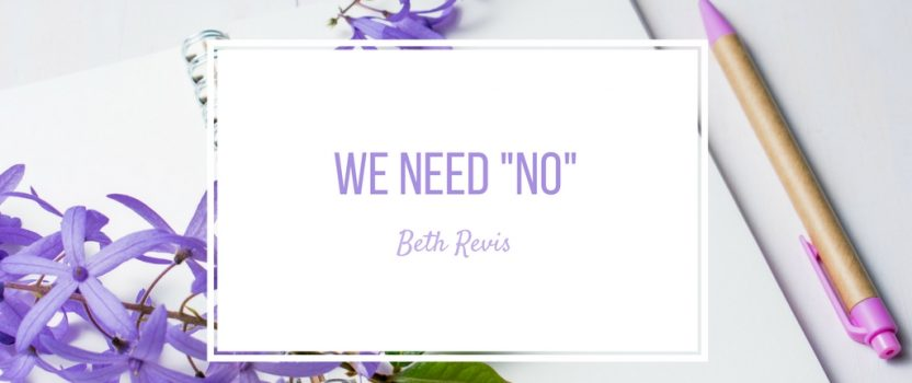 "KEYNOTE: We Need ""No"""
