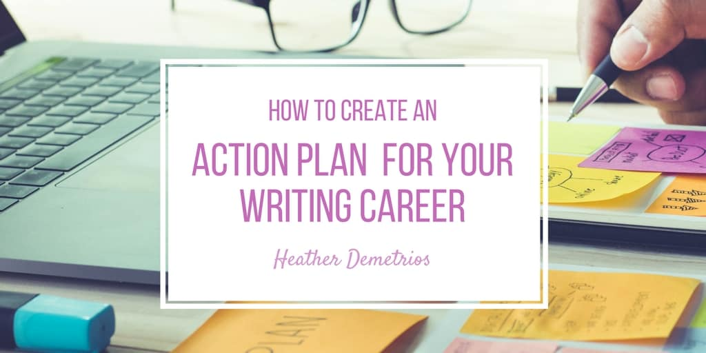 how to write a career action plan