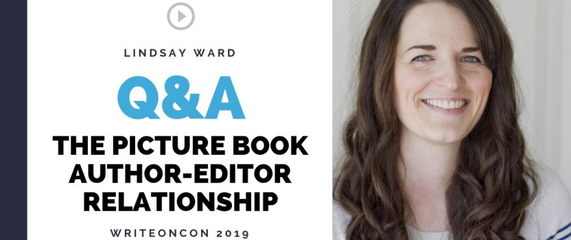 LIVE Q&A: The Picture Book Author-Editor Relationship